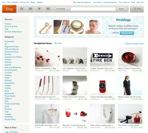 Instant Karma Pyrite Cubes featured on Etsy's front page