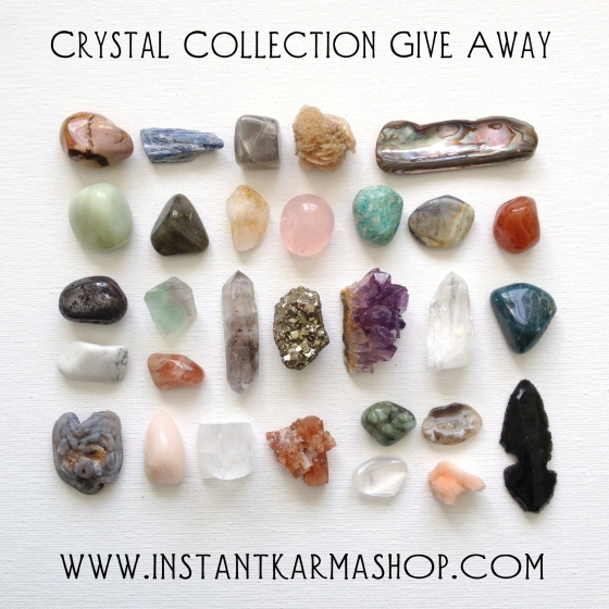 Instant Karma Instant Crystal Collection Give Away